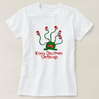 メリークリスマスの人類 Tシャツ
