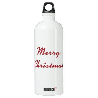 メリークリスマスの地球に優しいボトル ウォーターボトル