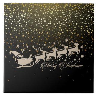 メリークリスマスの季節 タイル