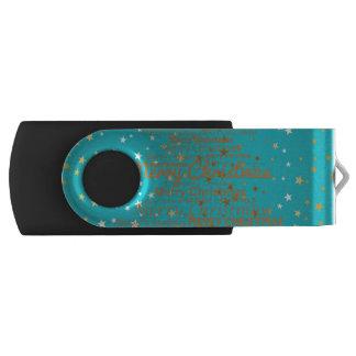メリークリスマスの季節 USBフラッシュドライブ