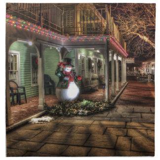 メリークリスマスの家 ナプキンクロス
