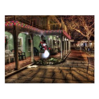 メリークリスマスの家 ポストカード