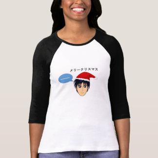 メリークリスマスの日本様式 Tシャツ