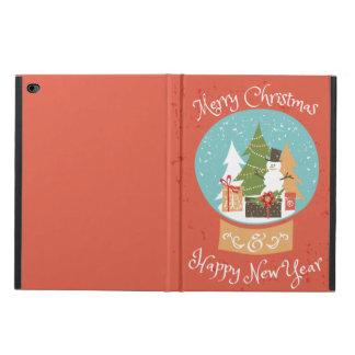 メリークリスマスの明けましておめでとう POWIS iPad AIR 2 ケース