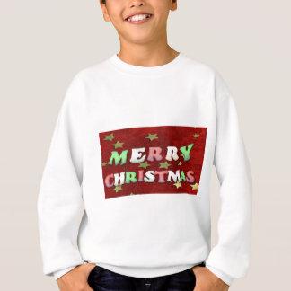 メリークリスマスの星 スウェットシャツ