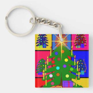 メリークリスマスの木 キーホルダー