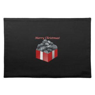 メリークリスマスの石炭の現在 ランチョンマット