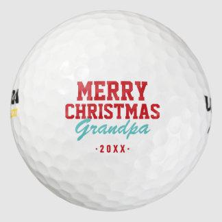 メリークリスマスの祖父のゴルフ・ボール ゴルフボール