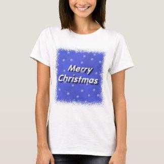メリークリスマスの雪 Tシャツ