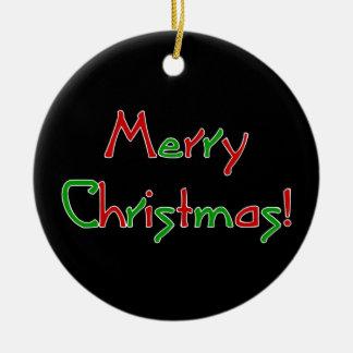 メリークリスマスの願い セラミックオーナメント