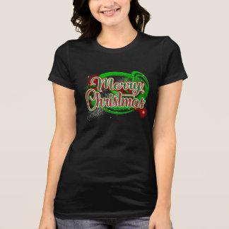 メリークリスマスの-休日のTシャツを再度仮定します Tシャツ