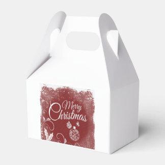 メリークリスマスのGoodie箱 フェイバーボックス