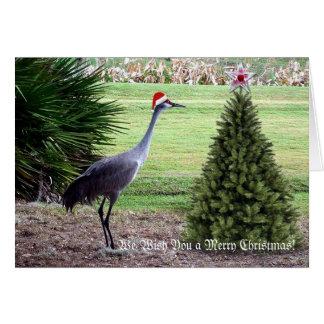メリークリスマスを望みます ノートカード