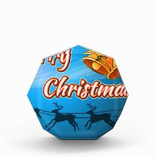 メリークリスマスカード 表彰盾