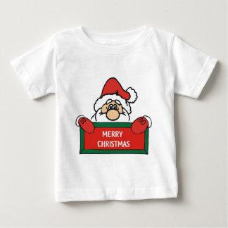 メリークリスマスサンタクロース ベビーTシャツ