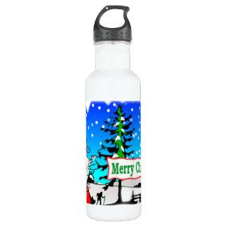 メリークリスマスサンタ ウォーターボトル