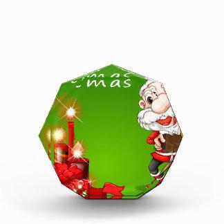 メリークリスマスサンタ 表彰盾