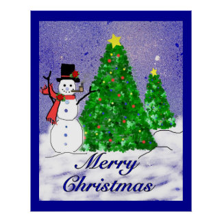 メリークリスマスポスター ポスター