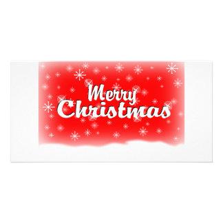 メリークリスマス1つの赤 カード