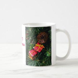 メリークリスマス11ozのマグ コーヒーマグカップ