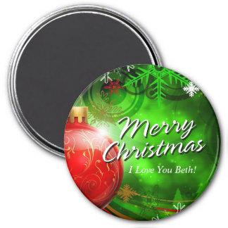 メリークリスマス13のオーナメントの磁石 マグネット