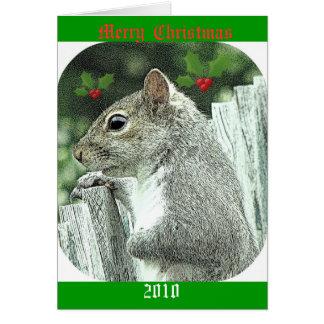 メリークリスマス2010年 カード