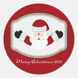 メリークリスマス2011年 ラウンドシール