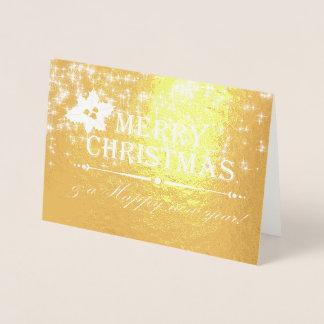 メリークリスマス86 箔カード