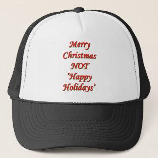 メリークリスマス、ない「幸せな休日 キャップ