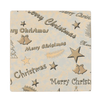 メリークリスマス ウッドコースター