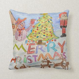 メリークリスマス クッション