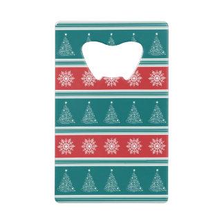 メリークリスマス クレジットカード栓抜き