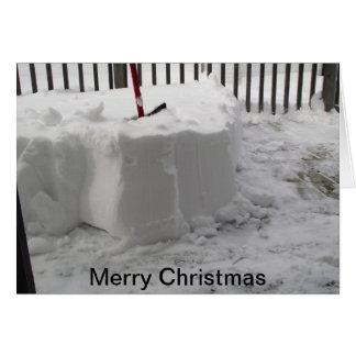 メリークリスマス グリーティングカード