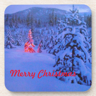 メリークリスマス コースター
