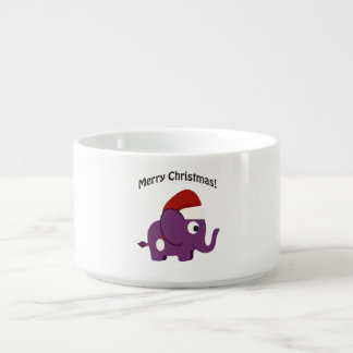 メリークリスマス! サンタ象 チリボウル