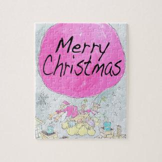 メリークリスマス、ジグソーパズル ジグソーパズル