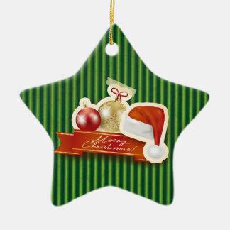 メリークリスマス! セラミックオーナメント