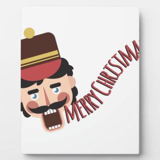 メリークリスマス フォトプラーク