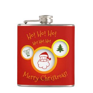 メリークリスマス フラスク