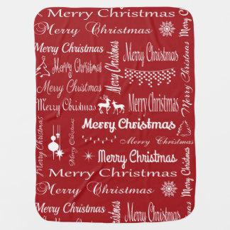 メリークリスマス ベビー ブランケット