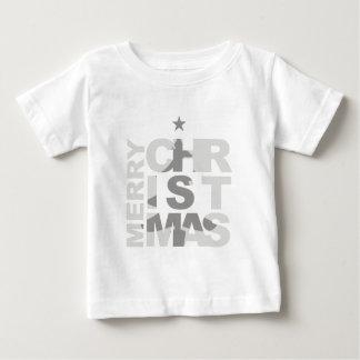 メリークリスマス ベビーTシャツ
