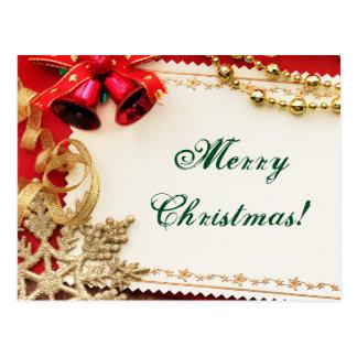 メリークリスマス! ポストカード