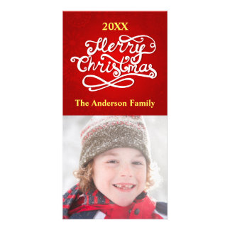 メリークリスマス-写真カード カード