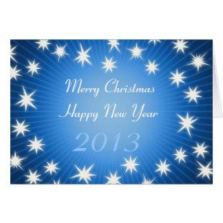 メリークリスマス! 明けましておめでとう2013年 カード