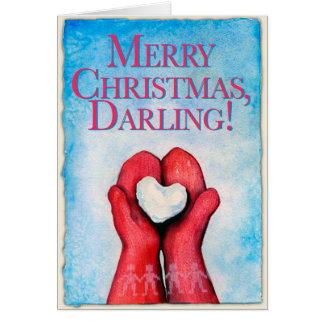 メリークリスマス、最愛の人! クリスマスカード カード