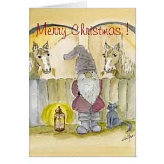 メリークリスマス-格言 カード