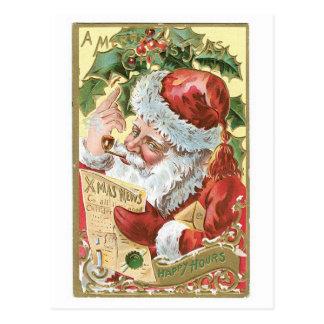 メリークリスマス-楽しい時間 ポストカード