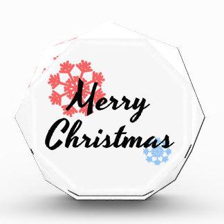 メリークリスマス。 男性へ服装および女性。 T-shir 表彰盾