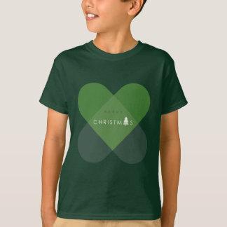 メリークリスマス-緑 Tシャツ