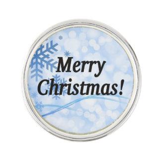 メリークリスマス! 英語のメリークリスマス。 bf ラペルピン